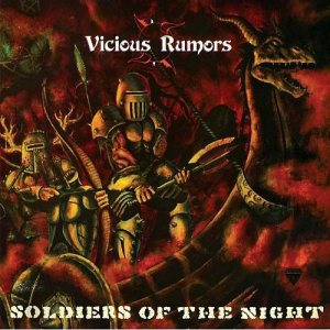 Vicious Rumors - Soldiers of the Night cover art