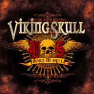 Viking Skull - Born in Hell cover art