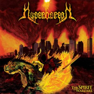 Hyperborean - The Spirit of Warfare cover art