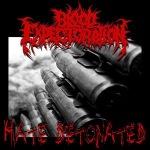 Blood Expectoration - Hate Detonated cover art