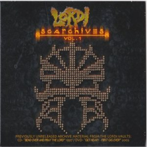 Lordi - Scarchives Vol.1 cover art