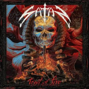 Satan - Trail of Fire – Live in North America cover art