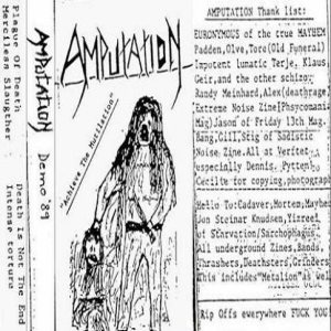 Amputation - Achieve the Mutilation cover art