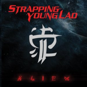 Strapping Young Lad - Alien cover art