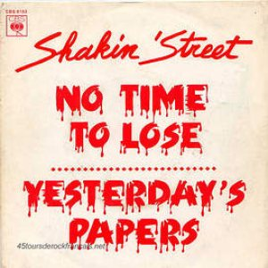 Shakin' Street - No Time to Lose cover art