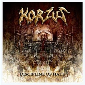 Korzus - Discipline of Hate cover art