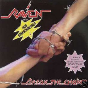 Raven - Break the Chain cover art