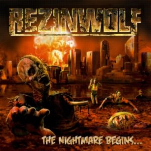 Rezinwolf - The Nightmare Begins​.​.​. cover art