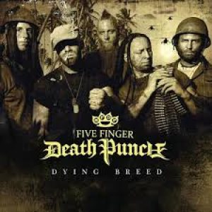 Five Finger Death Punch - Dying Breed cover art