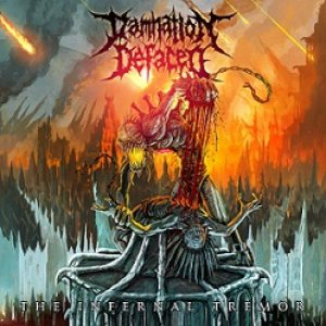 Damnation Defaced - The Infernal Tremor cover art