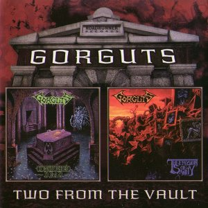 Gorguts - Considered Dead / the Erosion of Sanity cover art