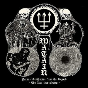Watain - Satanic Deathnoise From the Beyond - the First Four Albums cover art