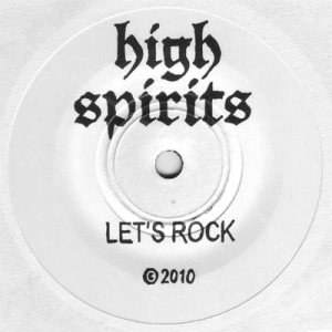 High Spirits - Let's Rock / Running Home cover art