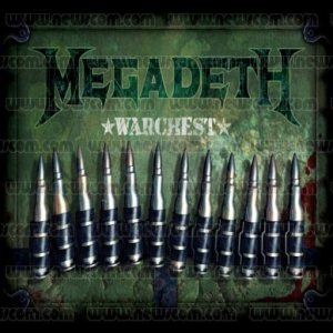 Megadeth - Warchest cover art