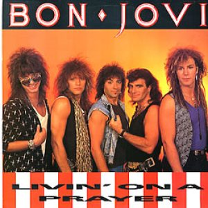 Bon Jovi - Livin' on a Prayer cover art