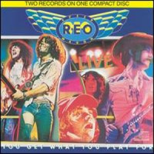 REO Speedwagon - Live: You Get What You Play For cover art