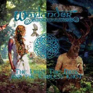 Waylander - The Light, the Dark, and the Endless Knot cover art