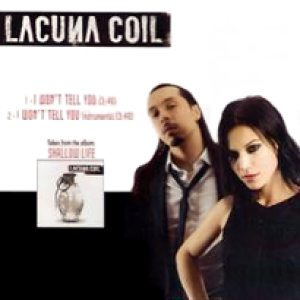 Lacuna Coil - I Won't Tell You cover art