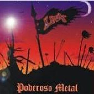 Liza - Poderosos Metal cover art