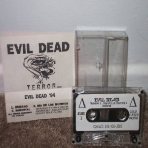 Evildead - Terror cover art
