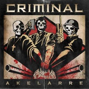 Criminal - Akelarre cover art