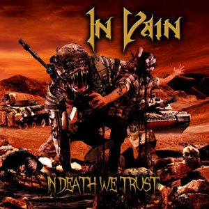 In Vain - In Death We Trust cover art