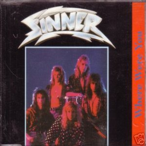 Sinner - Where Were You cover art