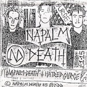 Napalm Death - Hatred Surge cover art