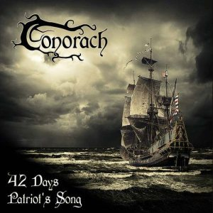 Conorach - 42 Days / Patriot's Song EP cover art