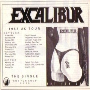 Excalibur - Hot for Love cover art