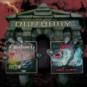 Obituary - Slowly We Rot / Cause of Death cover art