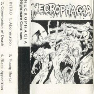 Necrophagia - Nightmare Continues cover art