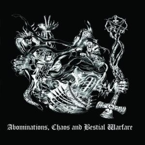 Land of Hate / Adokhsiny / Wargoatcult / Надимач - Abominations, Chaos and Bestial Warfare cover art