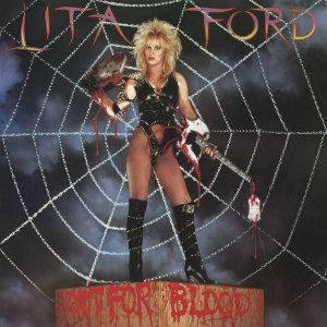Lita Ford - Out for Blood cover art