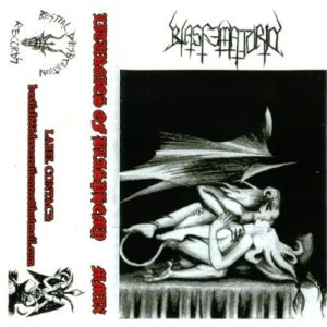 Blasfematorio - Liturgies of Blasphemy cover art