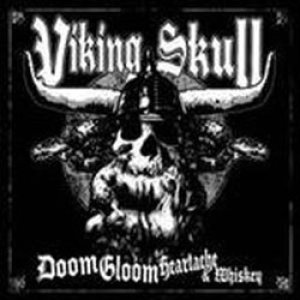 Viking Skull - Doom Gloom Heartache & Whiskey cover art