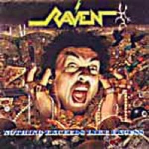 Raven - Nothing Exceeds Like Excess cover art