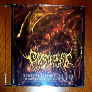 Coprocephalic - Promotional CD 2012 cover art