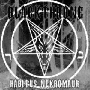 Blackthrone - Habitus Nekromaur cover art