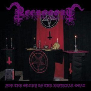 Necrogoat - For the Glory of the Infernal Goat cover art