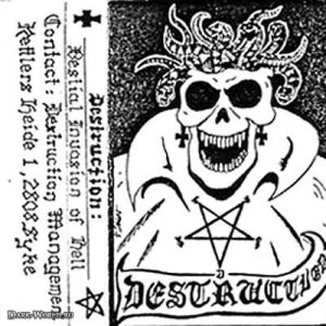 Destruction - Bestial Invasion of Hell cover art