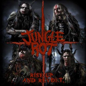 Jungle Rot - Rise Up and Revolt cover art
