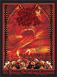 Corpse Grinder - 20 Years Grinding Corpses cover art