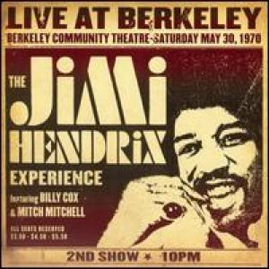 The Jimi Hendrix Experience - Live At Berkeley: 2nd Show cover art