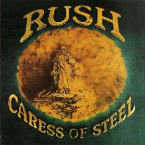 Rush - Caress of Steel cover art
