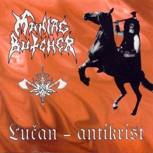 Maniac Butcher - Lucan-Antikrist cover art