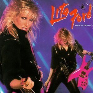 Lita Ford - Dancin' on the Edge cover art