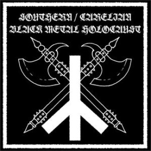 Satanic Warmaster / Evil - Southern / Carelian - Black Metal Holocaust cover art