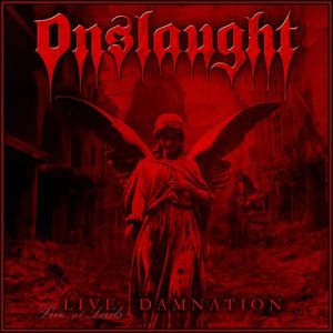 Onslaught - Live Damnation cover art