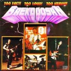 Baekdoosan - Too Fast! Too Loud! Too Heavy!! cover art